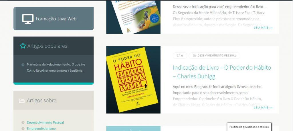 André Lobo - Porque criei esse blog de empreendedorismo digital - Blog 4
