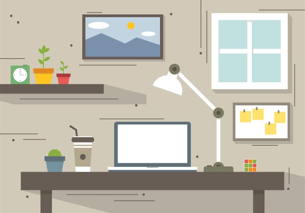 Como ter disciplina - Ambiente de trabalho