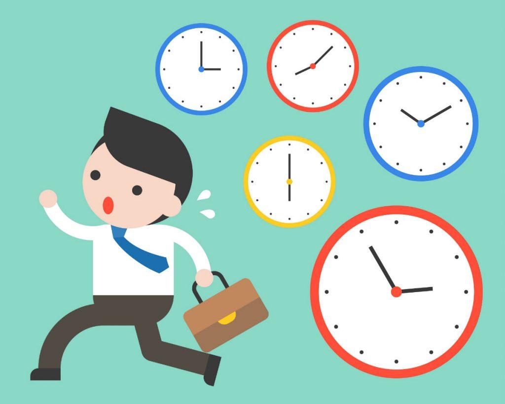 Como Empreender - Homem de negócios correndo com pressa