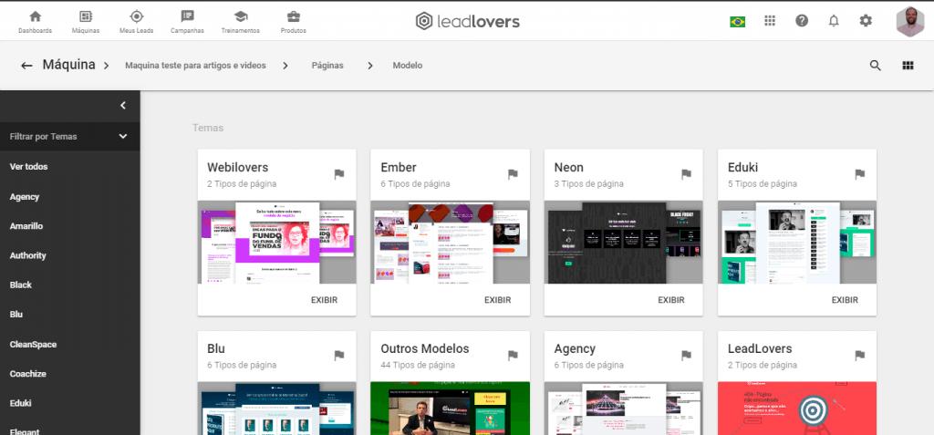Leadlovers - Construtor - Modelo