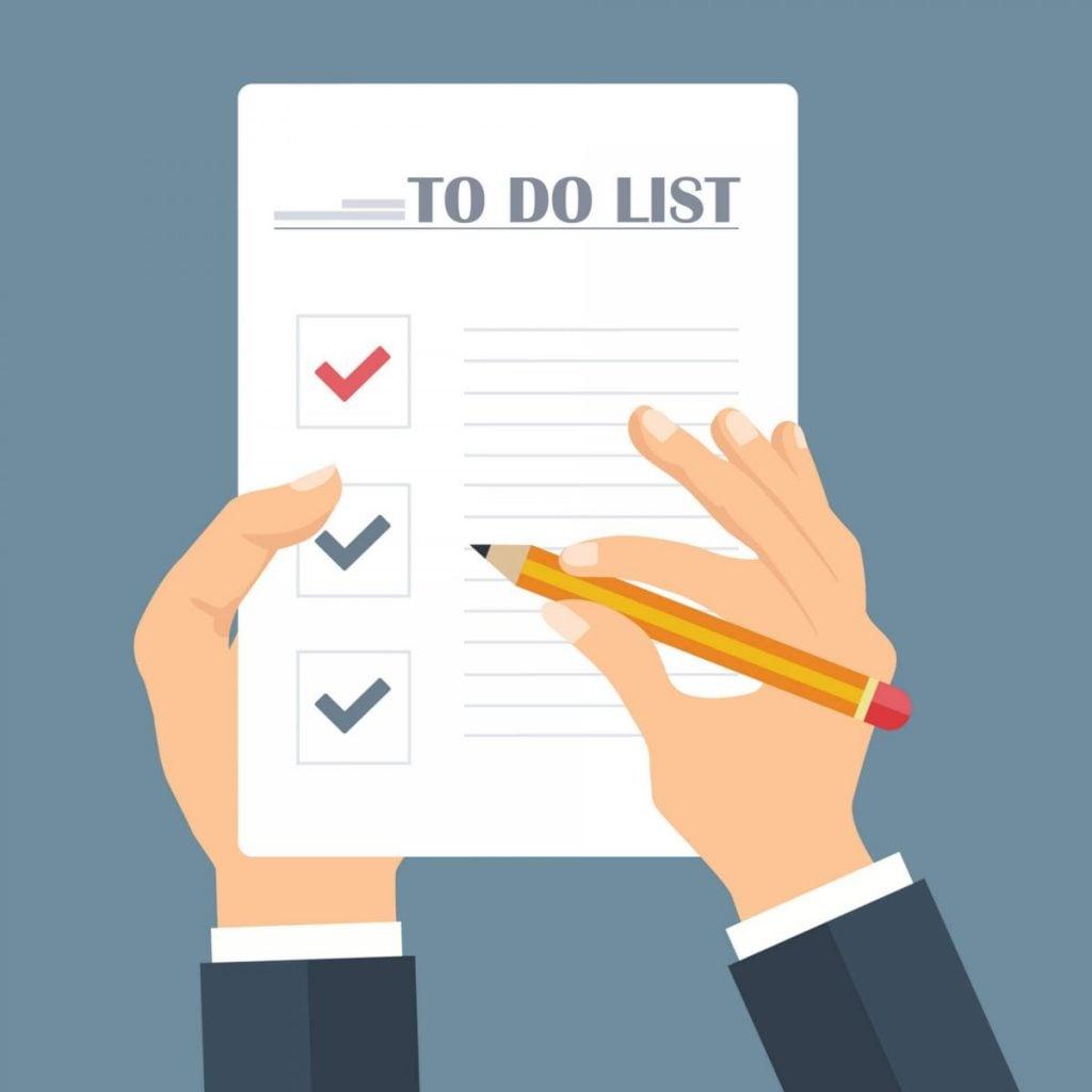 Como Empreender - Faça uma lista de tarefas